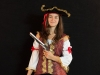 Pirate capitaine femme